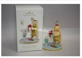 hallmark 2008 babys first christmas ornament winnie the pooh
