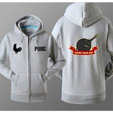 battlegrounds pubg zipper hoodie with logo save your