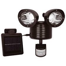solalite 22 led solar powered rechargeable pir motion sensor