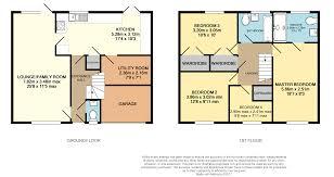 paddington station floor plan 4 bedroom detached house for sale in york close chippenham sn14 0qb