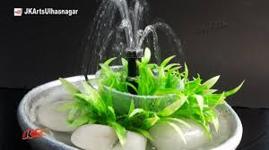 table top water fall diy how to make earthen waterfall tabletop waterfall fountain