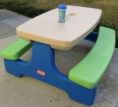 little tikes easy store picnic table candace s corner little tikes easy store picnic table review