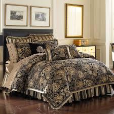 Bed Bath Beyond New York Bed Bath U0026 Beyond J Queen Alicante Comforter Set In Black