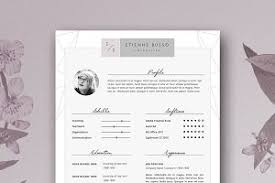 Stylish Resume Templates Stylish Resume Template Photos Graphics Fonts Themes Templates