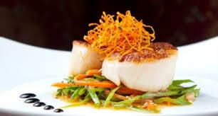 photo plat cuisine gastronomique a free meal at the restaurant la marée thanks to the card