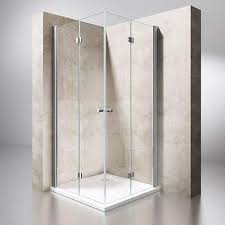 modern bi fold glass shower doors u2013 durovin bathrooms