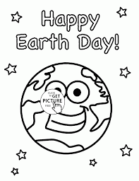 earth and stars earth day coloring page for kids coloring pages