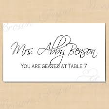 Avery Table Tents Classic White Editable Place Card Tents Fits Avery 5302 Template