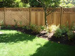 garden fence ideas design decorating clear