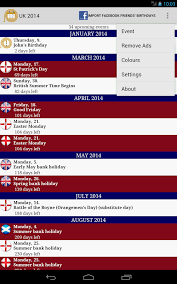 2017 uk holidays calendar android apps on play