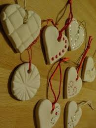 press into baking soda cornstarch ornaments air or do