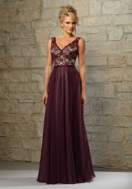 purple lace bridesmaid dresses lace bodice bridesmaid dress with chiffon skirt lining