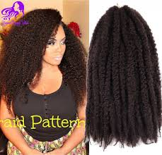 difference between afro twist and marley hair free shipping ombre afro kinky twist hair marley braids hair