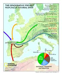 Map Of Seville Spain by Dna Results From Asturias Spain Add To The Genographic Project