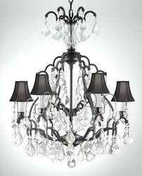 Chandelier Manufacturers Black Wrought Iron And Crystal Chandelier U2013 Eimat Co