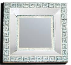 cornici con vetro specchio con cornice in mosaico di tessere di vetro con mo flickr