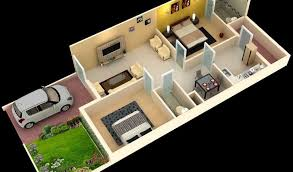 Home Design Plans For 1000 Sq Ft 3d