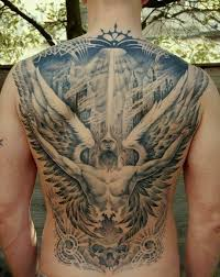 heaven hell tattoos clipart library