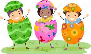kids easter 9331941 illustration of kids wearing easter costumes stock