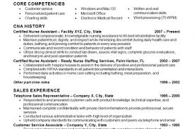 Objective Resume For Customer Service Cna Example Resume Resume Example And Free Resume Maker