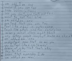a 10 year wrote a powerful poem that provides a window into life