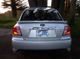 subaru sedan 2010 file 2010 silver subaru impreza wrx sedan rear jpg wikimedia commons