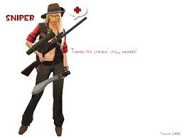 tf2 halloween desktop background team fortress 2 sniper by ifrau jpg 1600 1200 team fortress 2