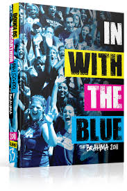 douglas high school yearbook yearbook cover douglas macarthur high school in with the blue