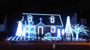 Christmas House Light Show by Laburnum Ave Rva Light Show 2015 Christmas Night Youtube