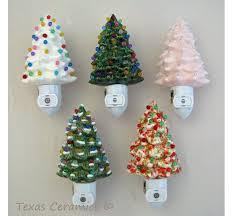 ceramic christmas trees soft pink ceramic christmas tree light with light sensitive
