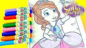 disney junior sofia crayola color