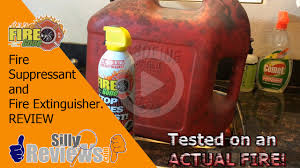 First Alert Kitchen Fire Extinguisher by Fire Gone Review Kitchen Fire Don U0027t Try This At Home Youtube
