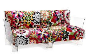 kartell sofa pop missoni 2 seat sofa hivemodern