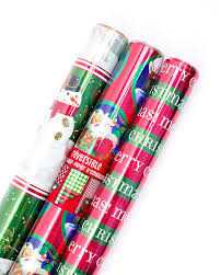 hallmark reversible wrapping paper foil