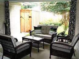 Best Outdoor Curtains Splashy Wicker Loveseat In Patio Eclectic With Victorian Interior