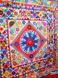 Kaffe Fassett Tapestry Cushion Kits Canton Village Quilt Works The Quilt Market Floor Through My Eyes