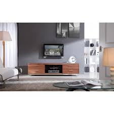 b modern promoter tv stand light walnut b modern modern manhattan