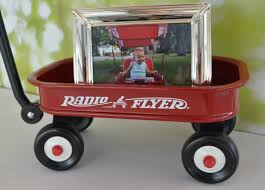 wagon baby baby s wagon word on the sidewalk radio flyer