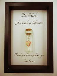 thank you gift doctor you made a difference can