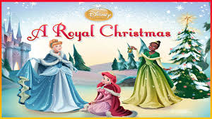 disney princess a royal christmas cinderella ariel u0026 tiana