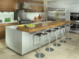 cuisine avec table cuisine avec ilot central et bar 5 inspirations 5 cuisines avec