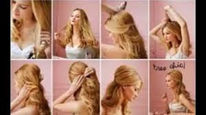 easy hairstyles for long thin hair video dailymotion