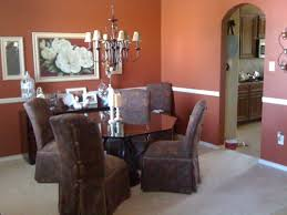 amazing design ideas dining room color with chair rail paint on