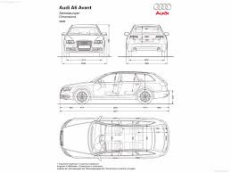 dimension audi a6 audi a6 avant 2009 picture 20 of 20