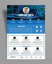 Free Professional Resumes Free Professional Resume Cv Design Template Psd File Good Resume