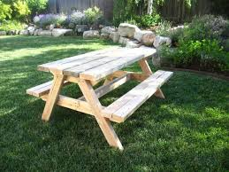 Picnic Table Plans Free Large by Furniture Home Picnic Tables Wooden Design Modern 2017 Marina