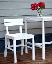 Ana White Patio Furniture Ana White Harriet Outdoor Dining Chair For Small Modern Spaces