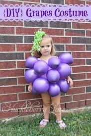 huckleberry love last minute halloween costume grapes