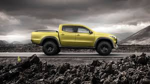 land cruiser pickup accessories mercedes benz x class pick up concept revealed photos 1 of 22