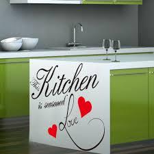 dining room decals wall sticker quote kitchen heart home dining room large decor